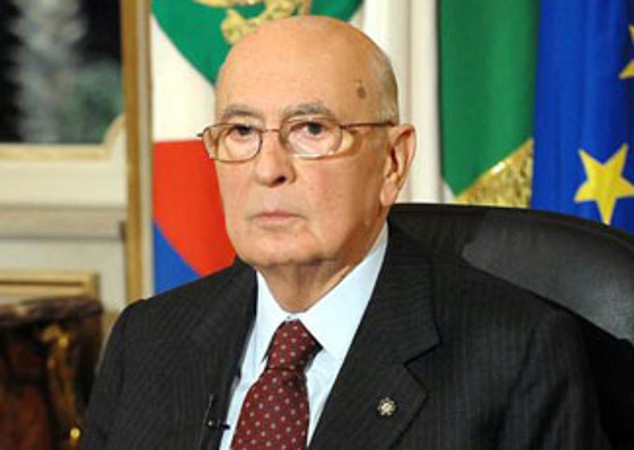 Giorgio Napolitano 2013 Happenings in Italy Italian Good News