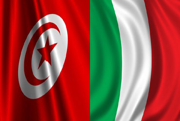 5. italy-tunisia flags