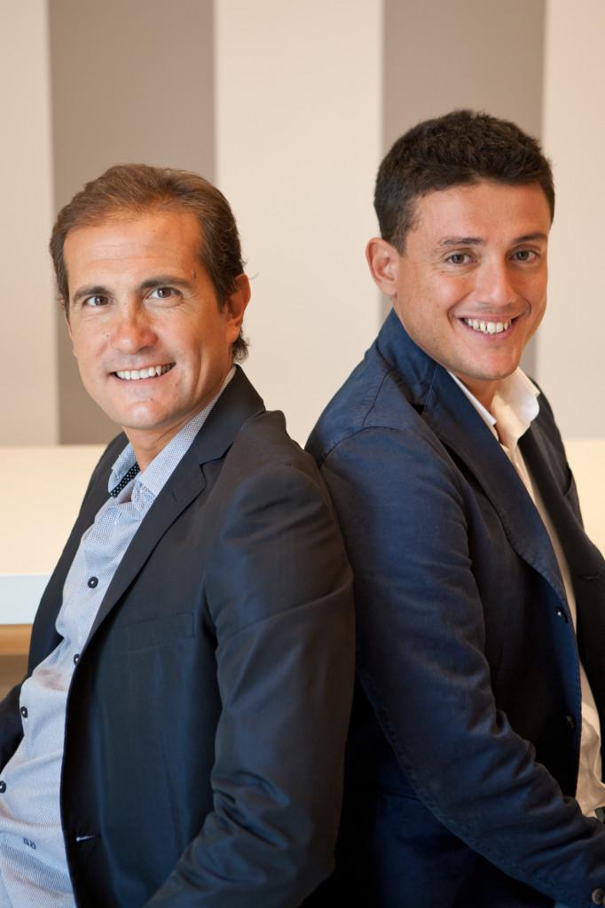 Danilo Caruso e Alessio Matrone (Presidente e AD di Optima Italia)