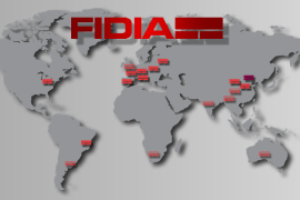 fidia all over the world