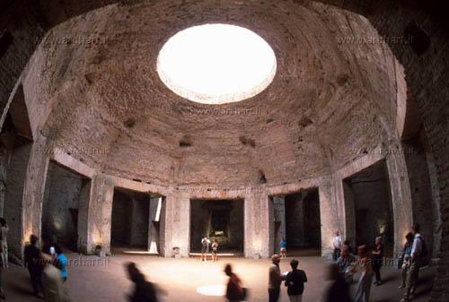 Roma, la Domus Aurea, sala ottagona