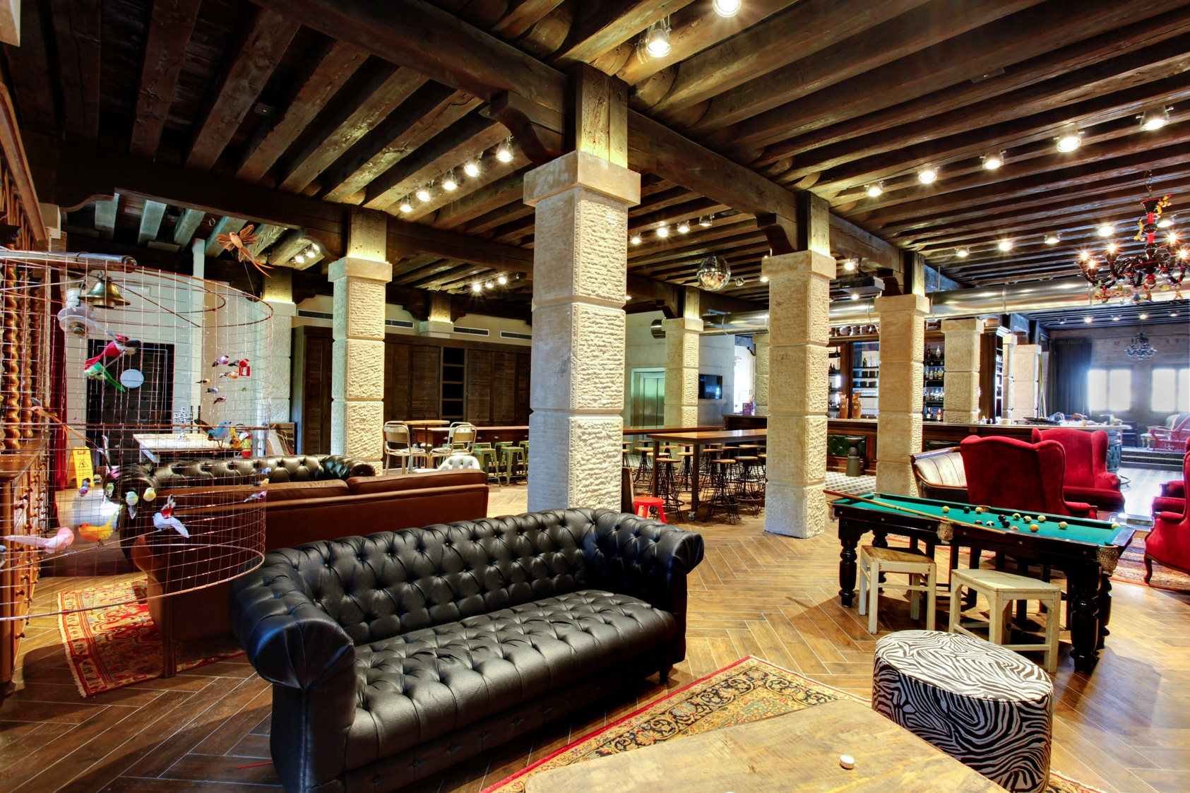 Italian hostels among the best ones in the world for Design hotel venise