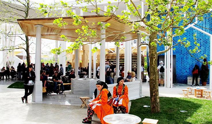 EXPO2015 turchia-chiostro