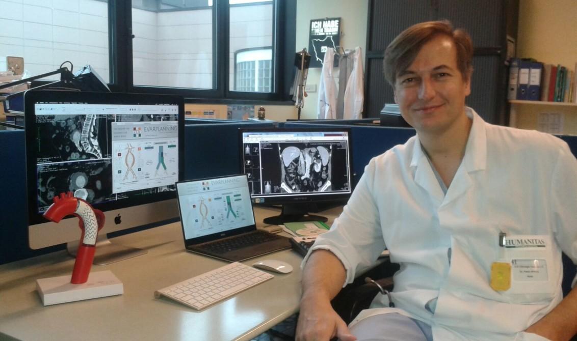 Vascular surgeon Dr. Paolo Spada