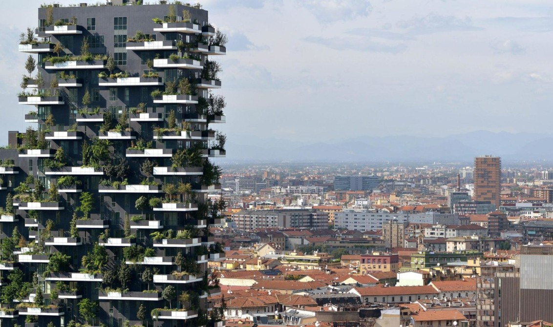 2015 Best Tall Building Is The Vertical Forest
