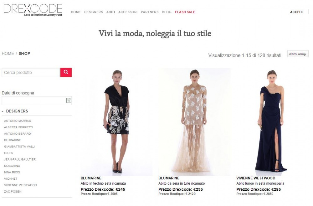 Italy Fashion News API Web Data | Webhose