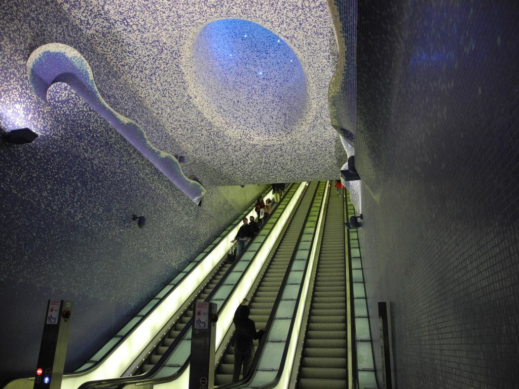 Naples subway station Toledo awarded as the most innovative underground work