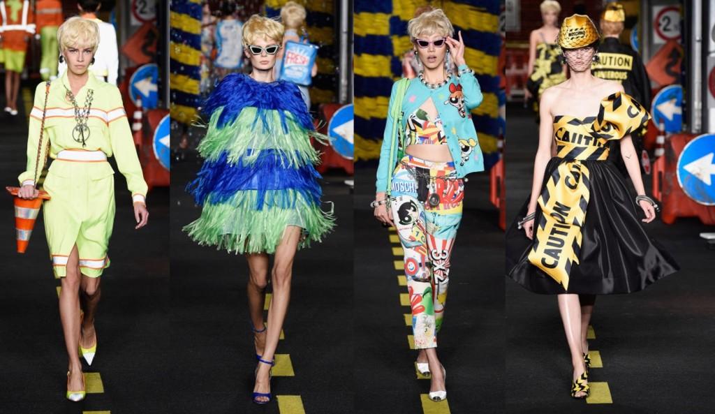 Milan Fashion Week earns its leadership Moschino