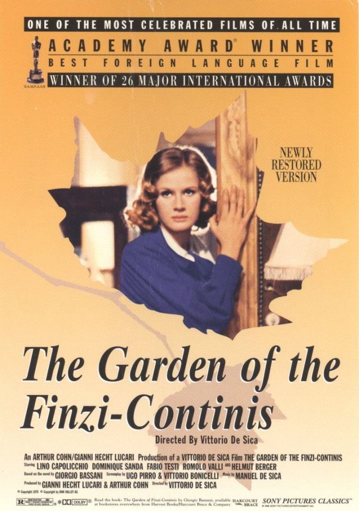 The Garden of the Finzi-Continis - movie