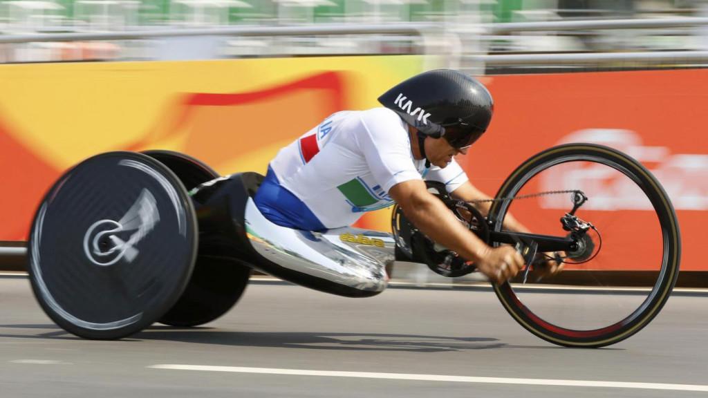 Alex Zanardi at Paralympics