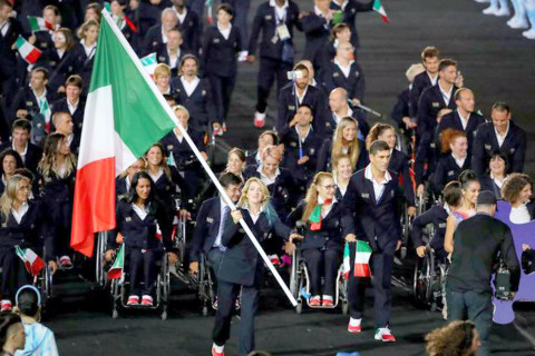 Italian team at Paralympics 2016