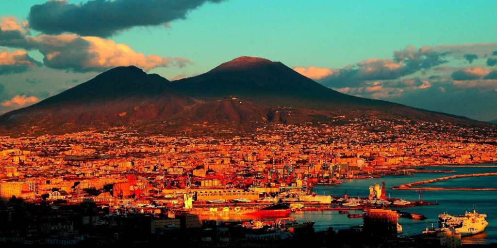 The monte Vesuvius