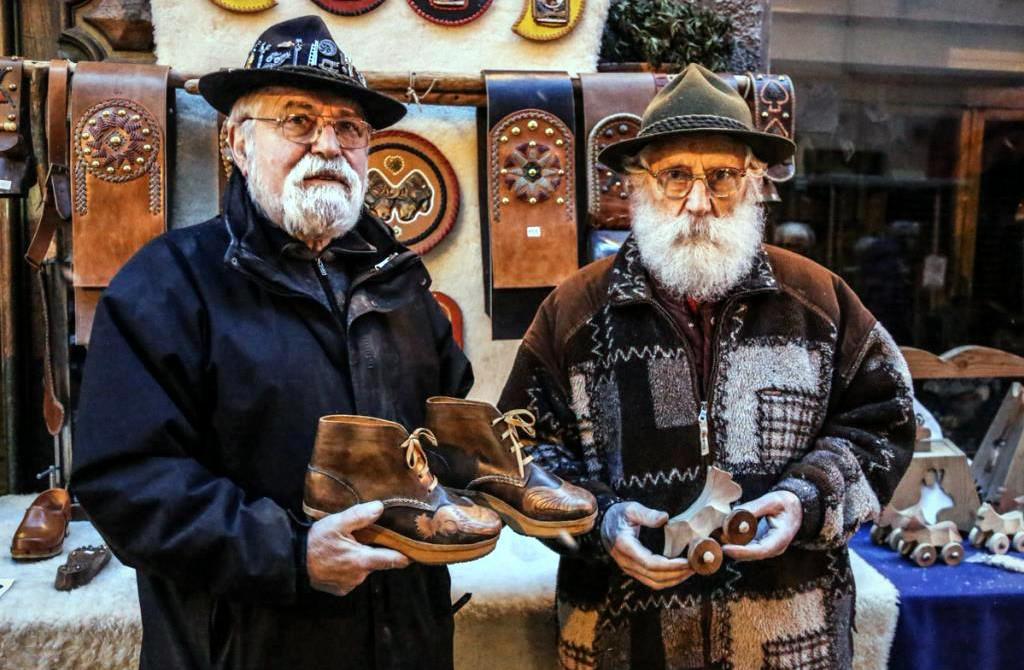 Aosta Valley - saint'Orso fair typical shoes