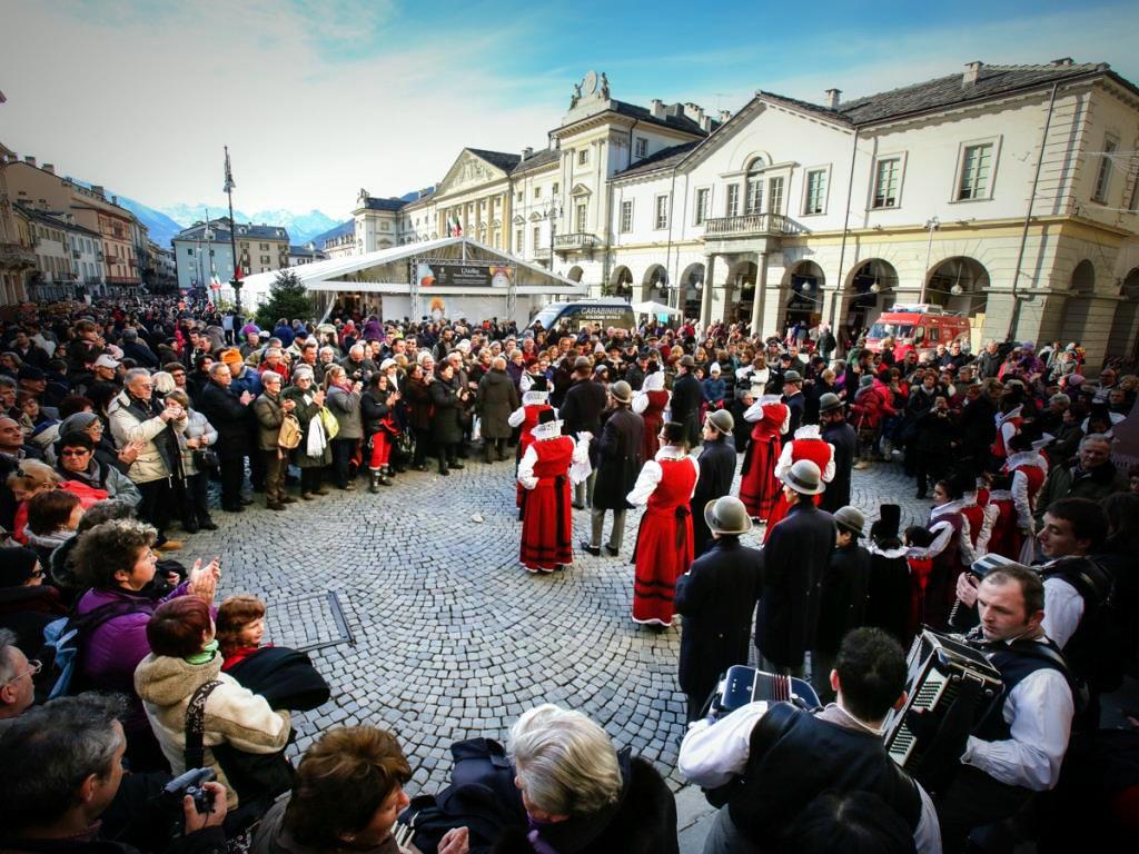 Aosta Valley Saint'Orso fair