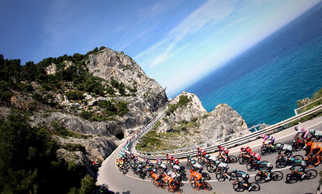 Giro d'Italia around Sardinia