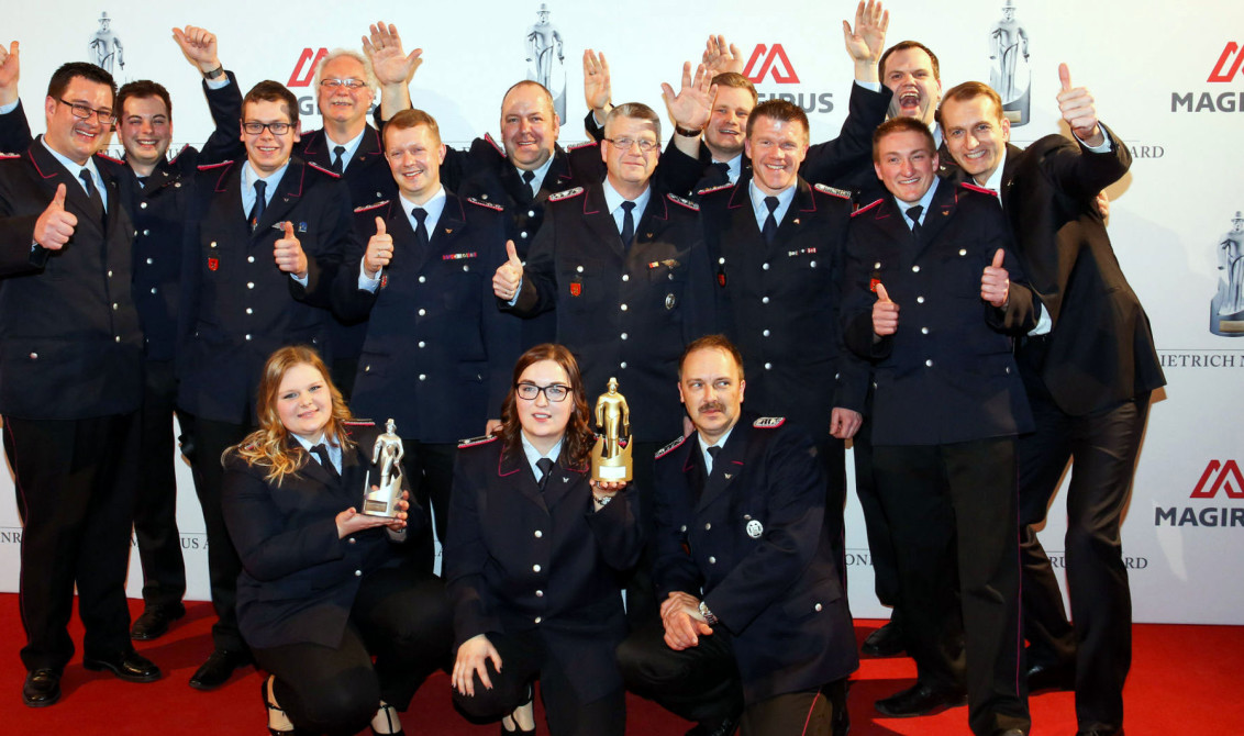 Italian firefighters
