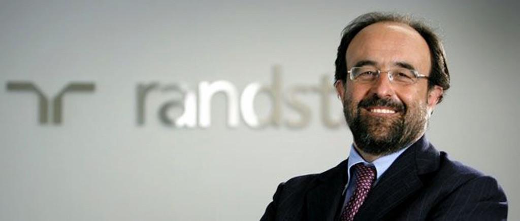 Marco Ceresa, the CEO of Randstad Italia