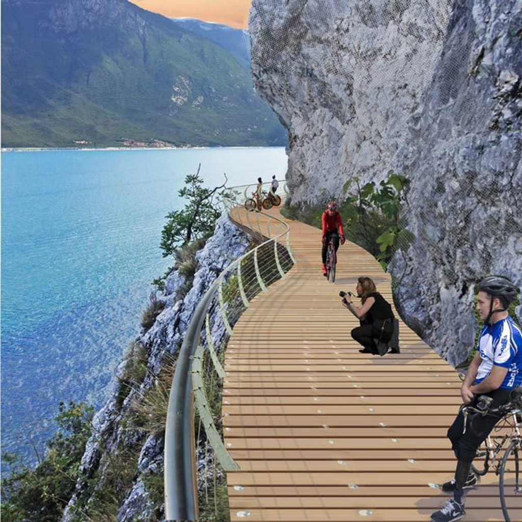Cycling route Garda by Bike