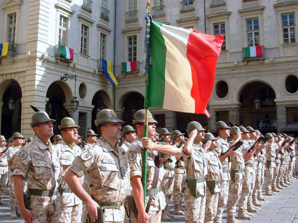 Alpini at the parade